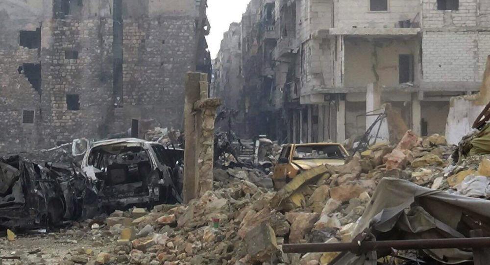 Ostatni wyzwolony kwartał wschodniego Aleppo - As-Sukkari