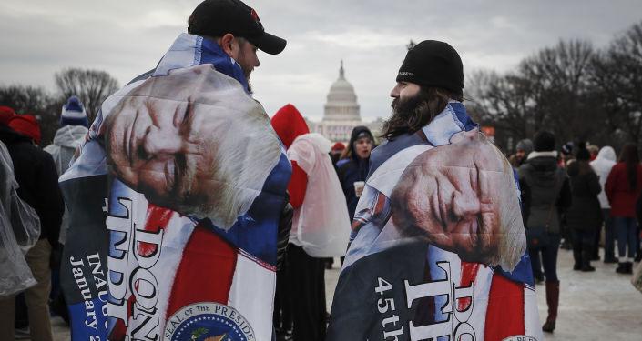 Amerykanie czekają na rozpoczęcie ceremonii inauguracji