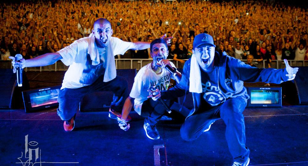 Koncert grupy hip-hopowej Bliss n Eso