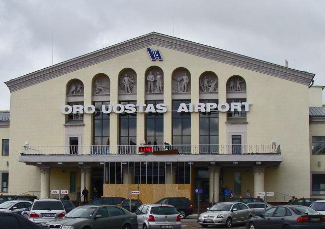 Lotnisko międzynarodowe w Wilnie
