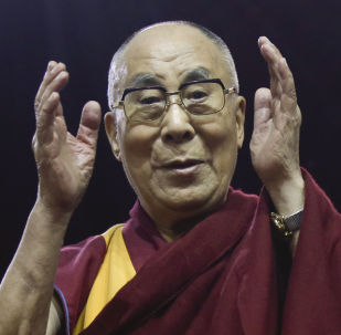 Przywódca duchowy Tybetańczyków Dalajlama