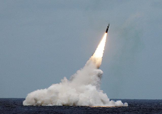 Rakieta Trident II D5 wystrzelona u wybrzeży Florydy
