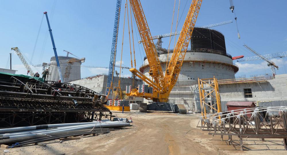 Budowa elektrowni atomowej w Ostrowcu na Białorusi