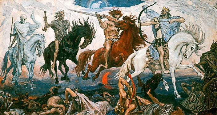 Reprodukcja obrazu Jeźdzcy Apokalipsy