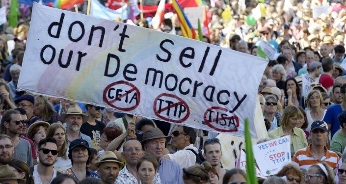Akcja antyglobalistów w Monachium przeciwko szczytowi G7