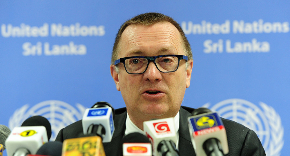 Zastępca sekretarza generalnego ONZ do spraw politycznych  Jeffrey Feltman