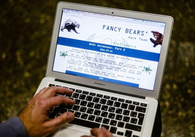 Strona grupy hakerskiej Fancy Bear
