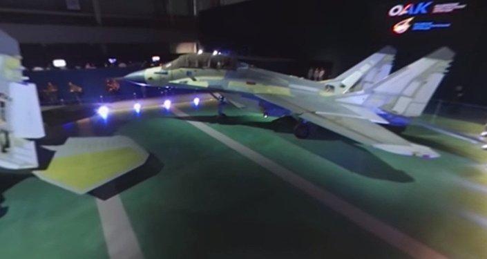 Najnowszy MiG-35 w formacie 360 panorama