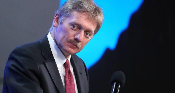Rzecznik prasowy prezydenta Rosji Dmitrij Pieskow