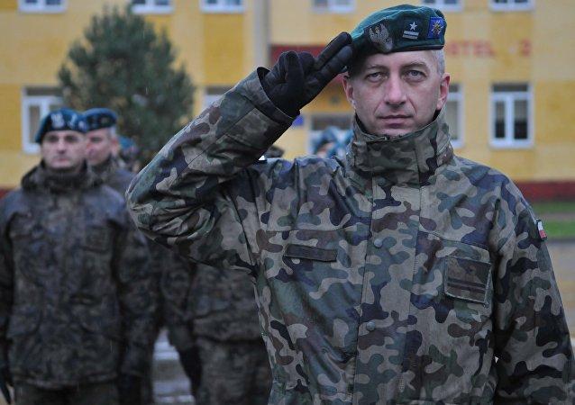 Polscy żołnierze na wspólnych ćwiczeniach z Ukrainą