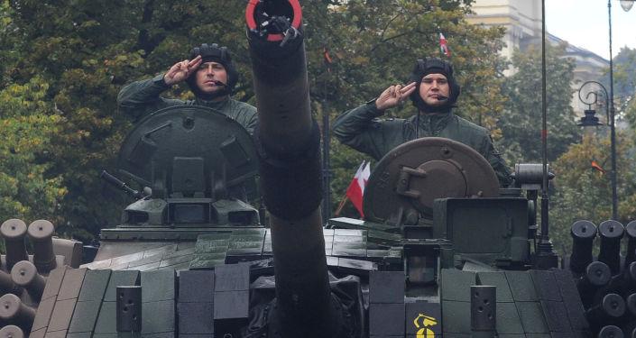 Polscy czołgiści, obchody Dnia Wojska Polskiego, 2016 rok