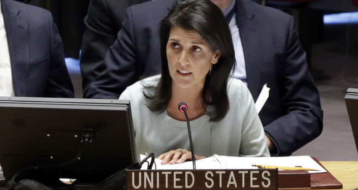 Ambasadorka USA przy ONZ Nikki Haley