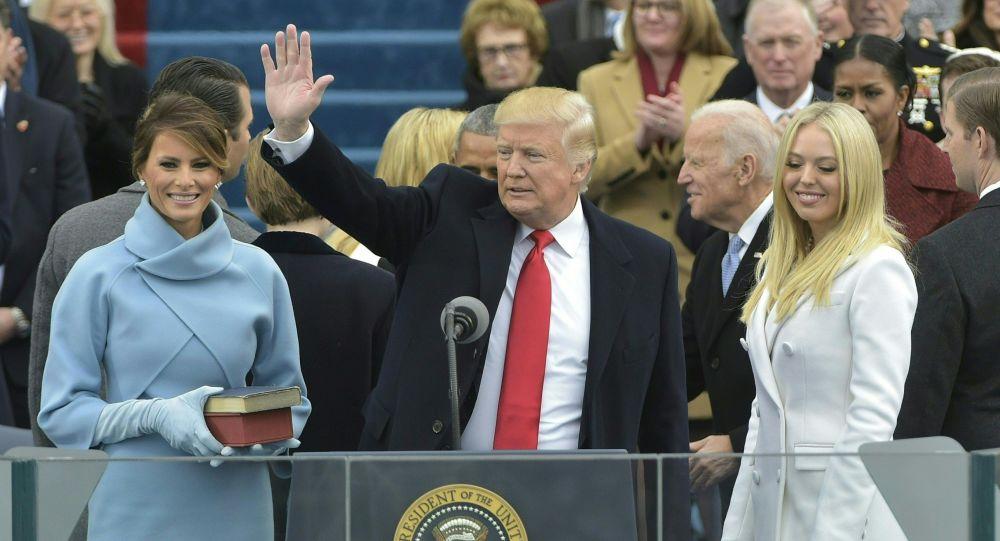 Uroczysta inauguracja prezydenta Stanów Zjednoczonych Donalda Trumpa w Waszyngtonie
