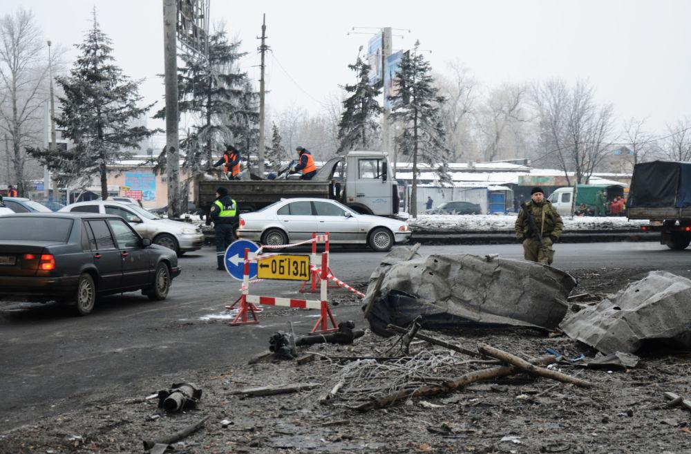 Donieck i Kominternowo po ofensywie ukraińskich sił zbrojnych