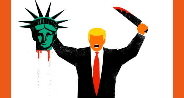 Okładka czasopisma Der Spiegel z Donaldem Trumpem