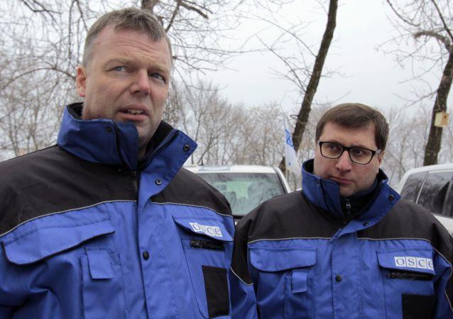 Wiceszef misji OBWE w Ukrainie Alexander Hug