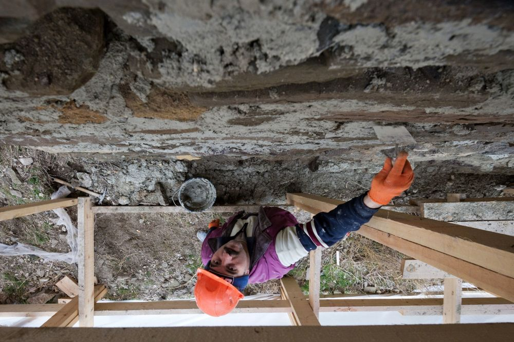 Najważniejsze prace, niezbędne do zachowania obiektów, prowadzone są zgodnie z programem zatwierdzonym przez Państwowy Komitet ds. ochrony dziedzictwa kulturowego Krymu.