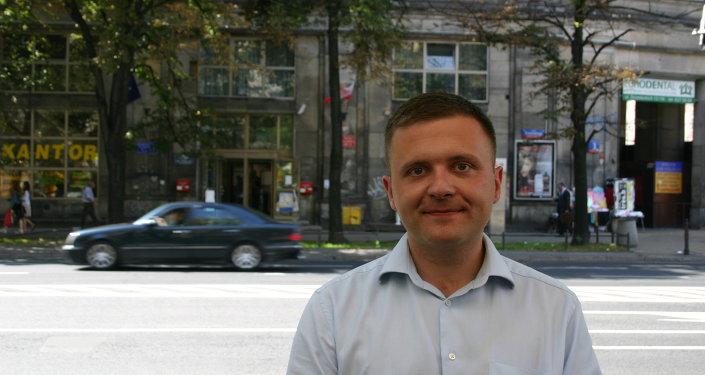Mateusz Piskorski, a Polish political activist