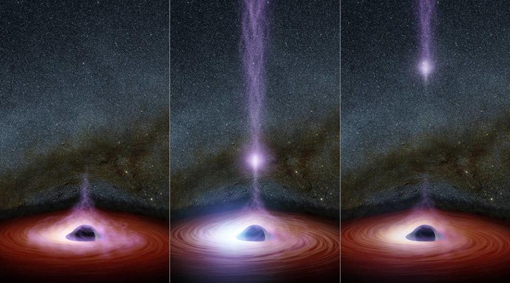 Żarłoczne czarne dziury