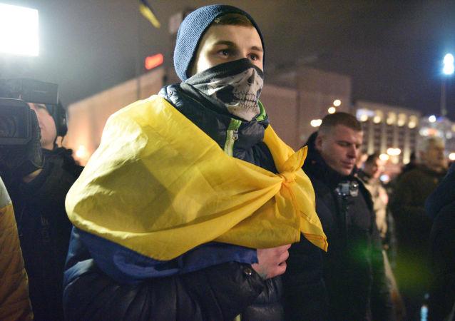Trzecia rocznica Majdanu, Kijów