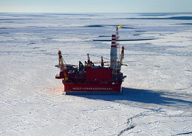 Platforma wiertnicza Gazpromu