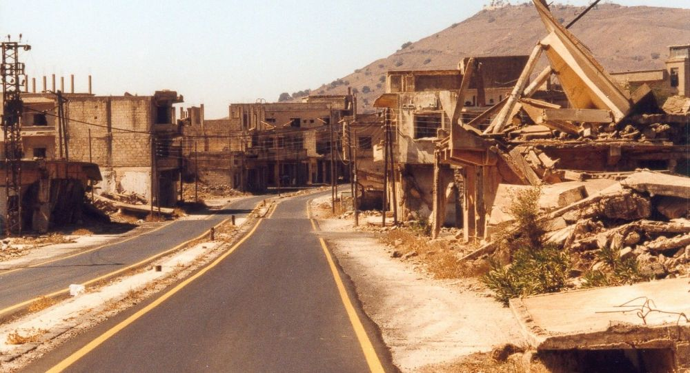 Ruiny Al-Kunajtira w Syrii