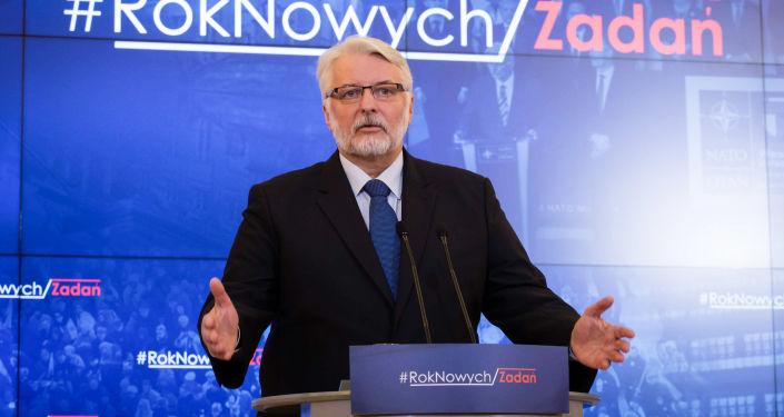 Szef MSZ Polski Witold Waszczykowski