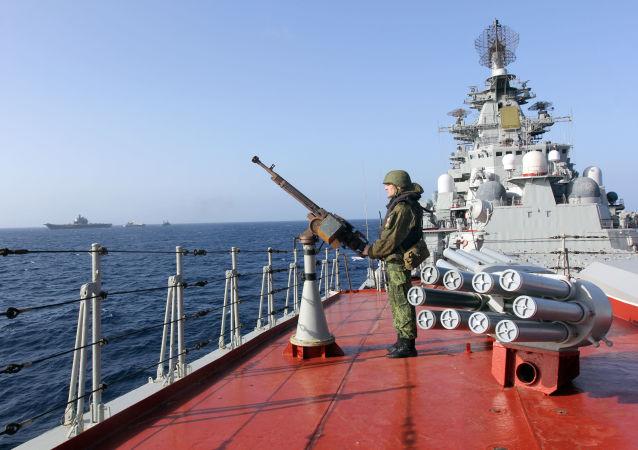 """Ciężki krążownik atomowy """"Piotr Wielki"""