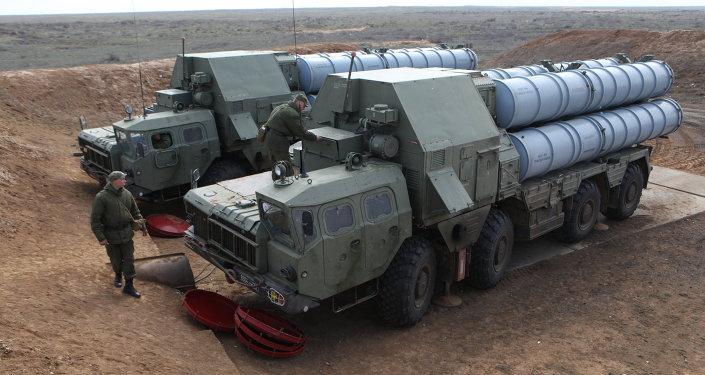 Rakietowy system przeciwlotniczy S-300 produkcji rosyjskiej