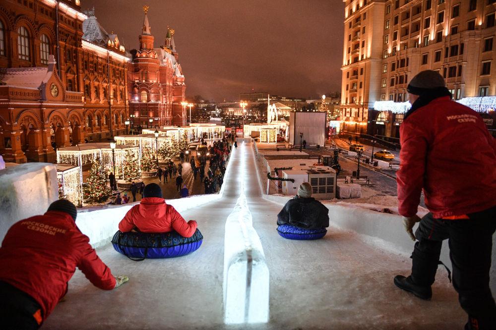 Nie znudzisz się zimą w Rosji