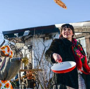Obchody Maslenicy w Mińsku