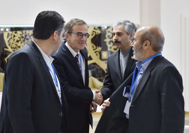 Posiedzenie wspólnej grupy operacyjnej Rosji, Turcji i Iranu nt. kontroli nad rozejmem w Syrii, Astana