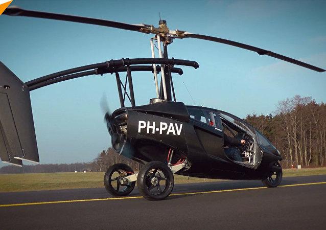 Pierwszy na świecie latający samochód
