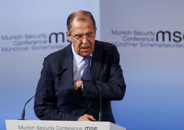 Siergiej Ławrow na Monachijskiej Konferencji Bezpieczeństwa