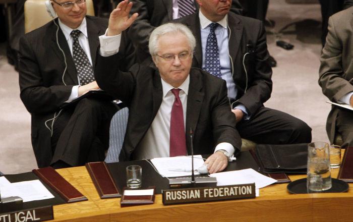 28 sierpnia 2014 roku Witalij Czurkin zaapelował do Rady Bezpieczeństwa organizacji międzynarodowej o wezwanie USA do zaprzestania wtrącania się w sprawy innych państw.
