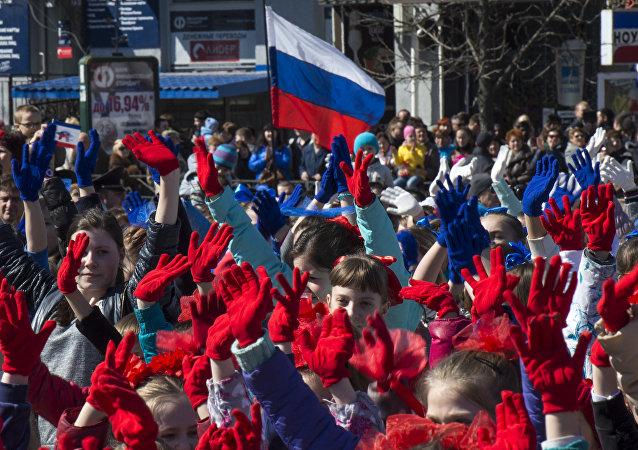 Pierwsza rocznica Krymskiej wiosny