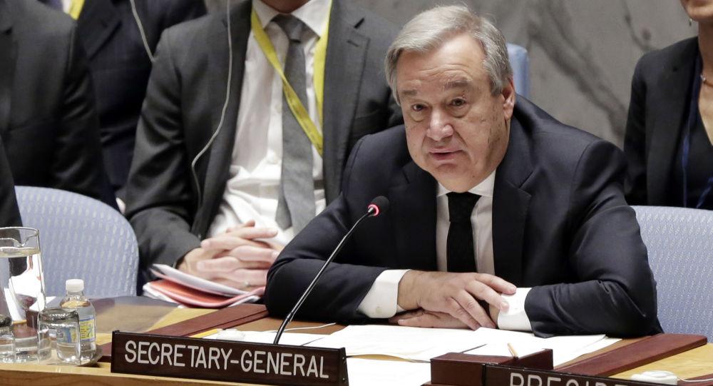 Sekretarz generalny ONZ Antonio Guterres