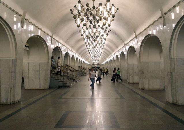 Stacja metro Mendelejewskaja w Moskwie