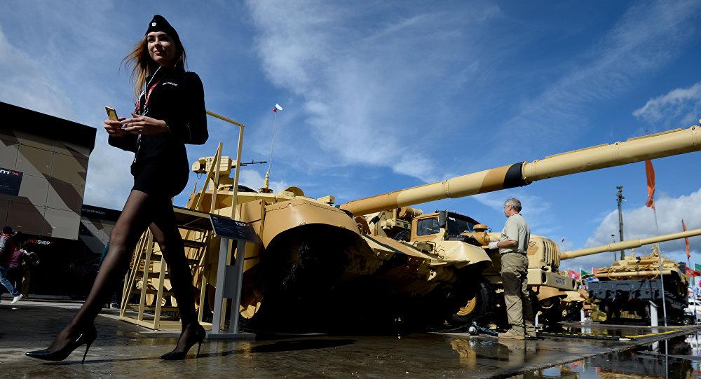 T-90MS został zaprezentowany w 2011 roku na poligonie w Niżnym Tagile podczas VIII Międzynarodowej Wystawy Broni Russian Expo Arms