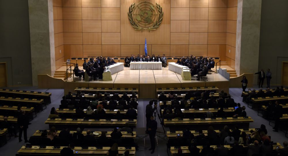 Rozmowy o Syrii w Genewie