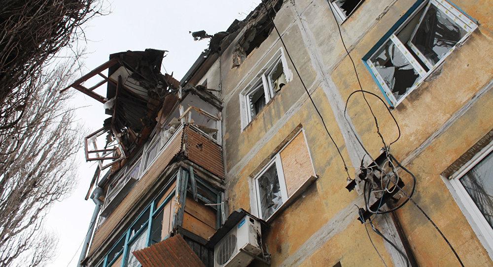 Ukraińska armia w nocy z piątku na sobotę ostrzelała ponad 20 miejscowości położonych wzdłuż linii podziału w DRL