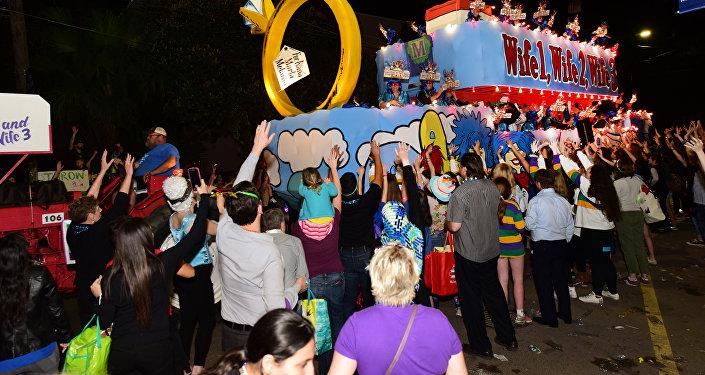 Samochód wjechał w tłum podczas parady w Nowym Orleanie na południu Stanów Zjednoczonych