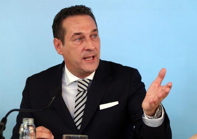 Przewodniczący Wolnościowej Partii Austrii Heinz-Christian Strache