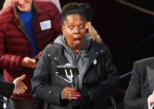 Jedna z widzów ceremonii wręczenia Oscarów