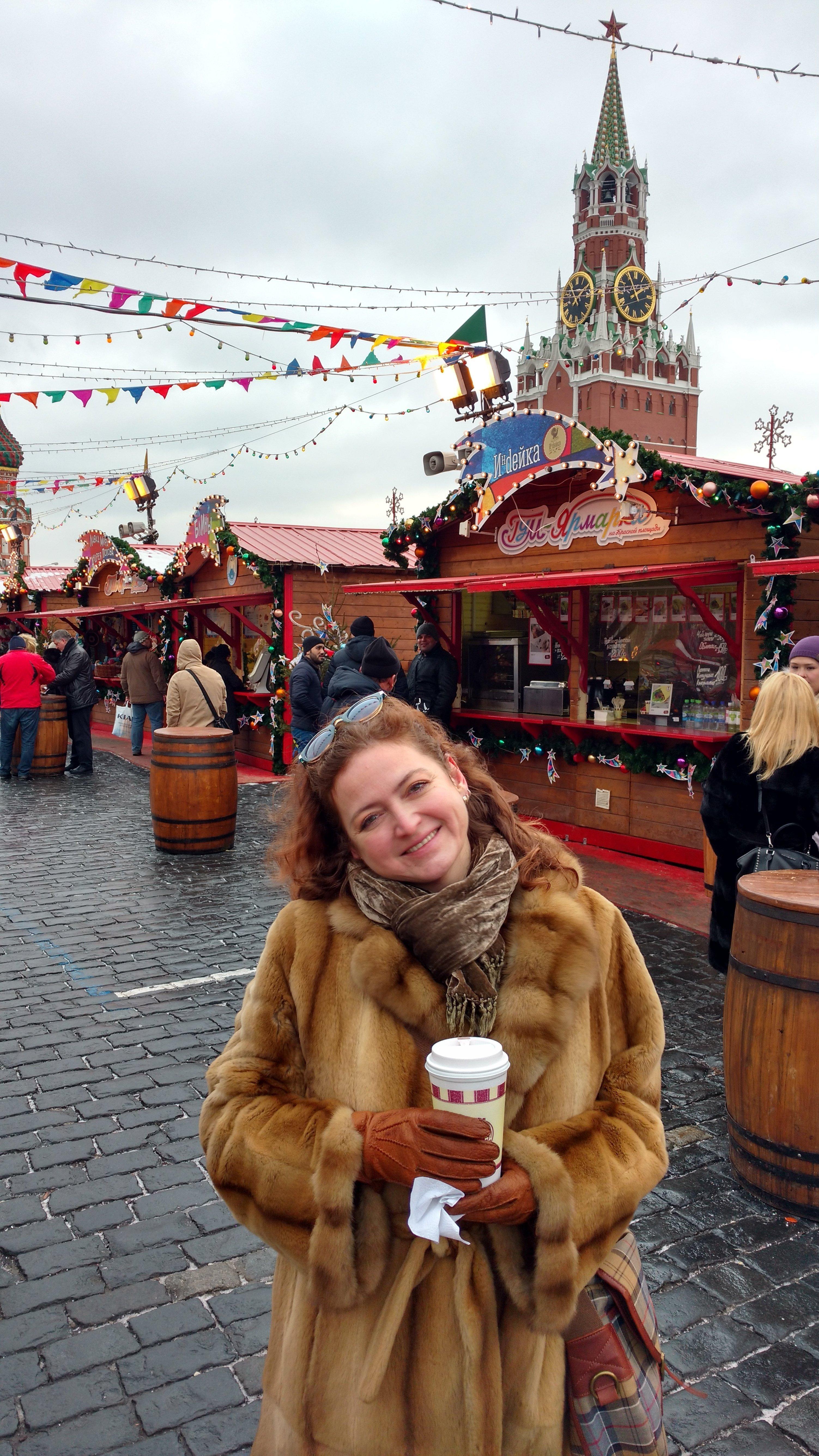 Agnieszka Wołk-Łaniewska w Moskwie