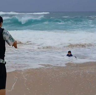Morze zabrało dziecko