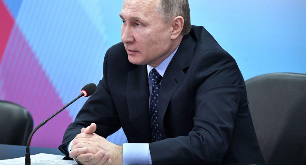 Robocza wizyta prezydenta Władimira Putina w Krasnojarsku