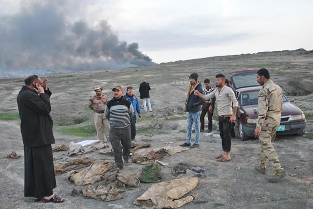 Na południu Mosulu odnaleziono zbiorową mogiłę.