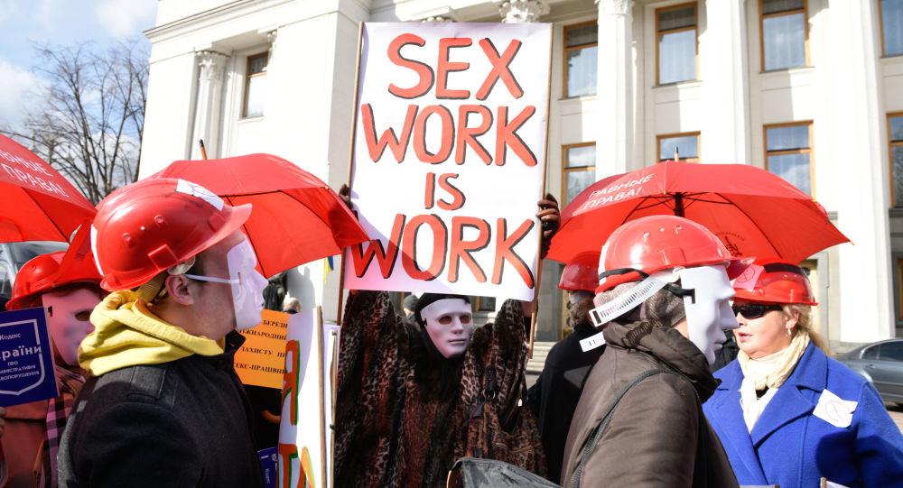 Wiec na rzecz legalizacji prostytucji na Ukrainie