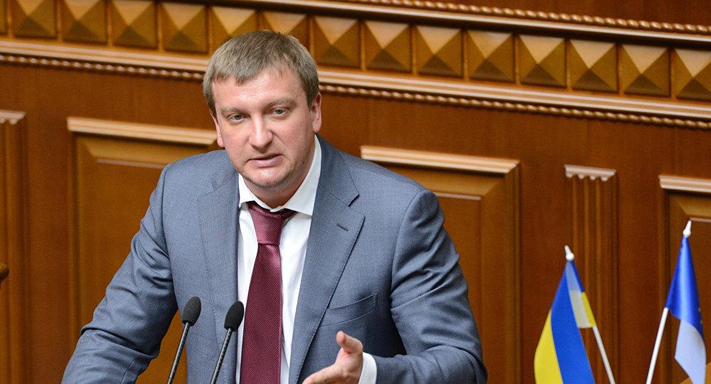 Minister sprawiedliwości Ukrainy Paweł Petrenko